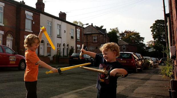 Almost three in 10 parents said they feared being 'judged' by neighbours if they let their children play unsupervised outdoors