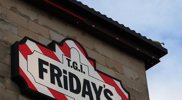 A member of staff at the TGI Friday's on Edinburgh's Castle Street called to report the fire on the premises