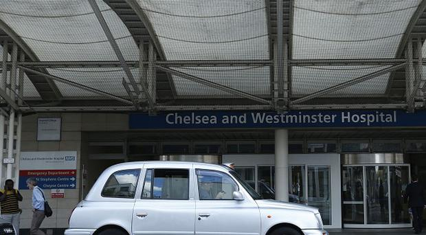 The Chelsea and Westminster Hospital in London, where the two teenagers are receiving treatment after their return to Britain