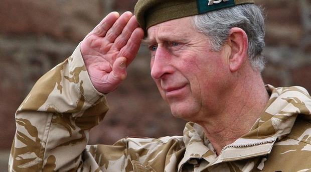 The Prince of Wales said the killing of Fusilier Rigby on the streets of south-east London in May has taken its 'toll' on troops