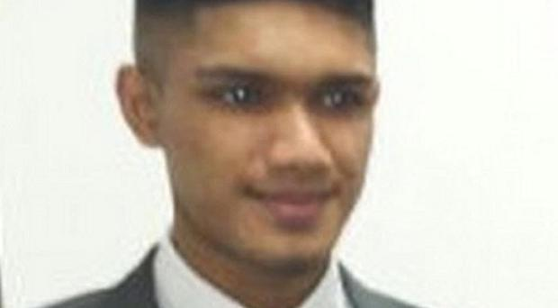 Ajmol Alom, 16, was described as a star pupil (Metropolitan Police/PA)