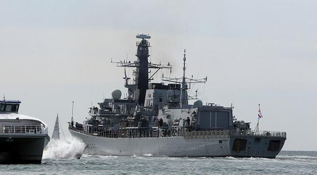 HMS Westminster sets sail for Gibraltar en route to a pre-planned international training exercise in the Mediterranean and Gulf