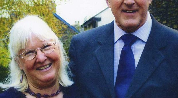Maureen Greaves with her late husband Alan (South Yorkshire Police/PA)