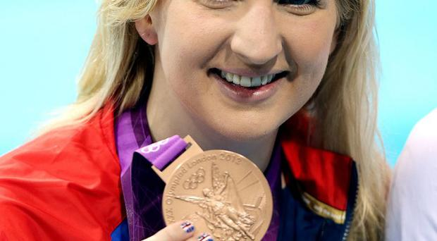 Rebecca Adlington feared her Olympic medals had been taken in a break-in at her home but later tweeted they had been found