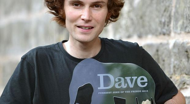 Rob Auton has been named the winner of Dave's Funniest Joke of the Fringe award (Martina Salvi/PA)