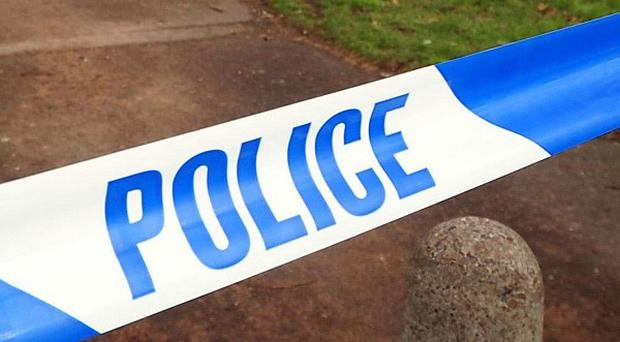Two people were onboard a light aircraft that crashed into a field in Leicestershire
