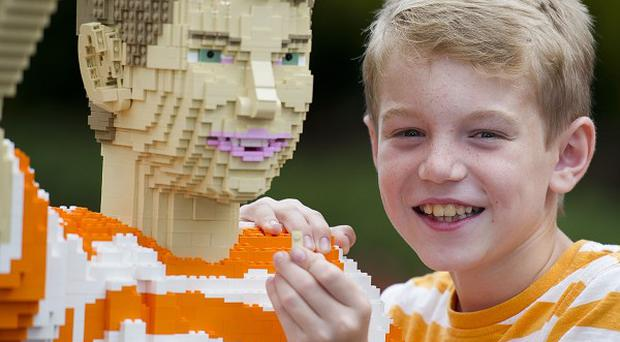 Jack Covill-Lowndes beat thousands of other hopefuls to become Lego City Hero at Legoland Windsor