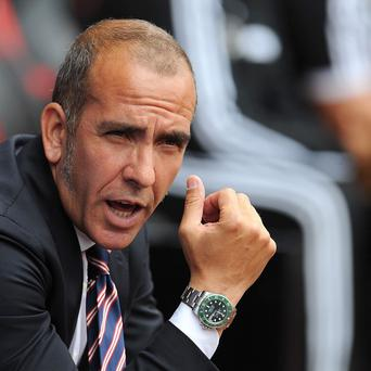 Sunderland boss Paolo Di Canio during the Barclays Premier League match St Mary's, Southampton