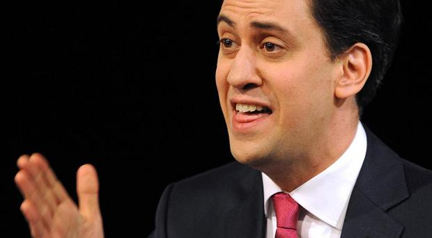 Ed Miliband's personal figures were worse than those for David Cameron