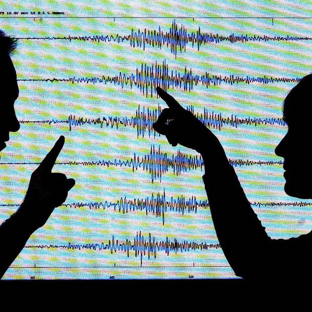 Two earthquakes have been recorded in the Irish Sea causing tremors on land nearby