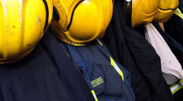 The man's body was found by firefighters who went into a burning property in Brandon, County Durham