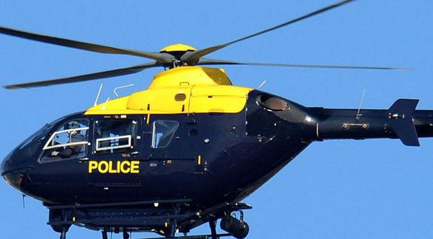 A police helicopter was scrambled as emergency services searched for the missing boy