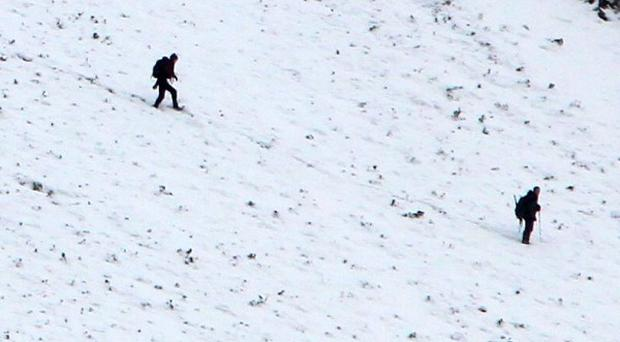 A British soldier died following a fall while climbing Mont Blanc