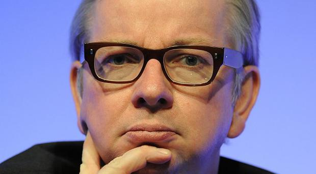 Michael Gove is alleged to have shouted 'disgrace, you're a disgrace' at Conservative and Liberal Democrat rebels following the vote