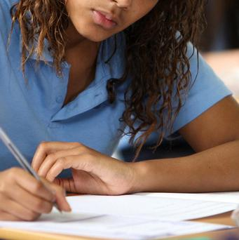 Almost a third of GCSE entries from students at fee-paying schools achieved top grades