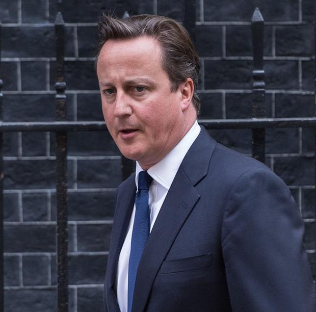 David Cameron backed the US President's position on military action against Syria