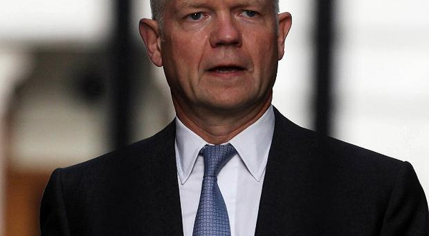 William Hague will appear in the Commons for Foreign Office questions where the crisis in Syria will dominate the agenda