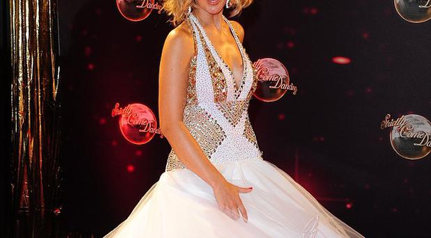 Rachel Riley arriving for the Strictly Come Dancing photocall at Elstree Studios, London
