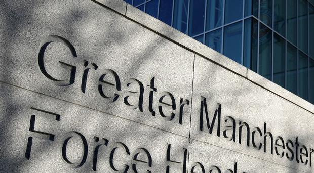 Greater Manchester Police Force invetigate only around 40 per cent of reported crimes