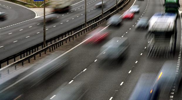 Drivers can be banned if they accumulate 12 points on their licence over a three-year period