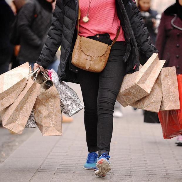 Consumer spending rose by more than four per cent in August compared with the same month last year