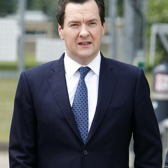 Chancellor George Osborne will hail 'tentative signs of a balanced, broad-based and sustainable recovery'