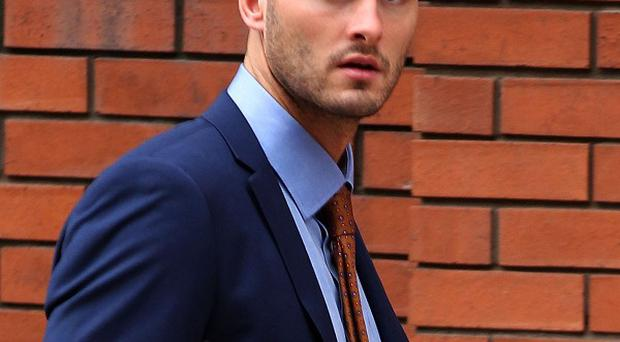 Sheffield Wednesday footballer Gary Madine has been convicted of assaulting a supporter of his own team in a nightclub
