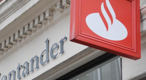 Cyber criminals targeted a branch of Santander in London, police say