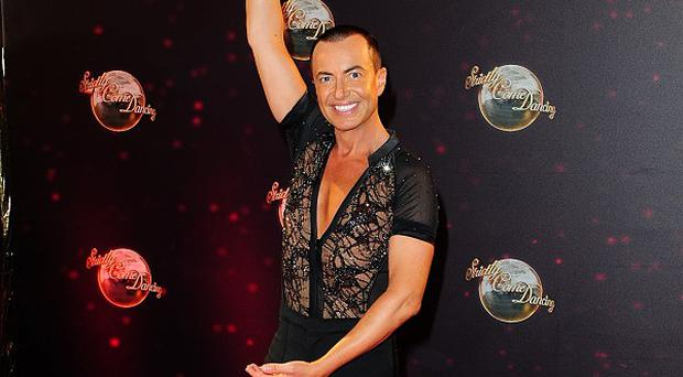 Julien Macdonald has an eye on this year's Strictly Come Dancing glitterball trophy