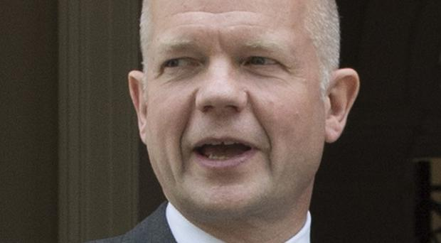 Foreign Secretary William Hague is holding further talks on Syria
