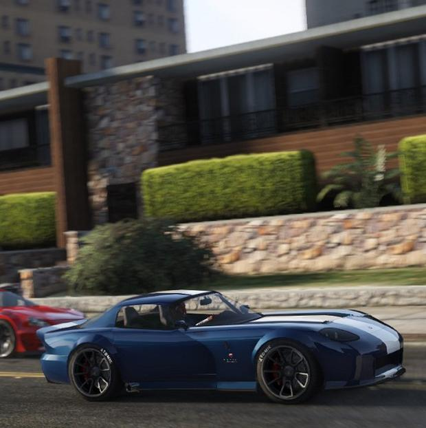 A screen shot from the video game Grand Theft Auto V