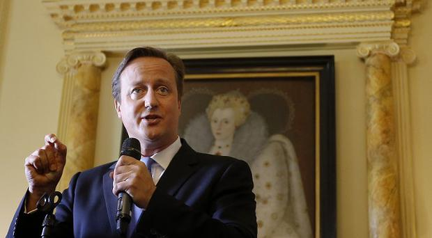 Prime Minister David Cameron defended his support for military action against Bashar Assad's regime