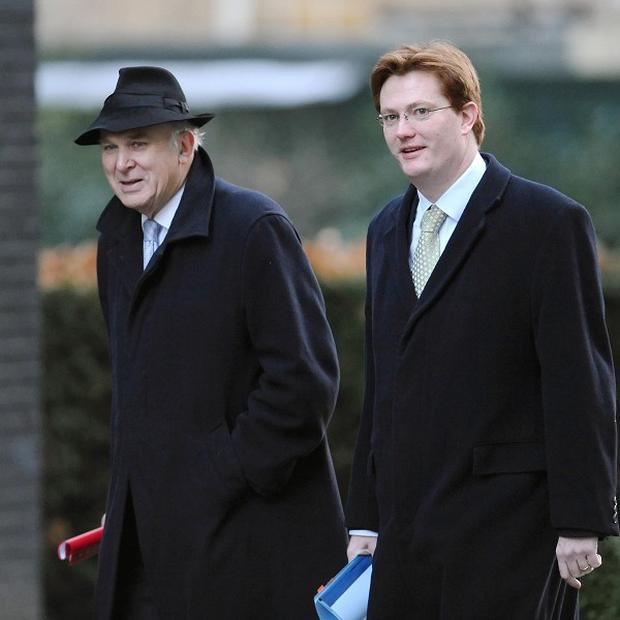 Vince Cable suggested the coalition could split early but Danny Alexander said the Lib Dem hierarchy intended to remain with the Tories until 2015