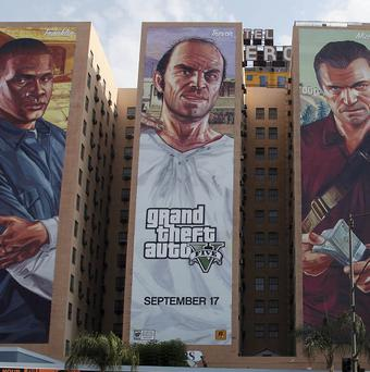 A man was attacked in London just an hour and 20 minutes after the Grand Theft Auto V video game went on sale (AP)