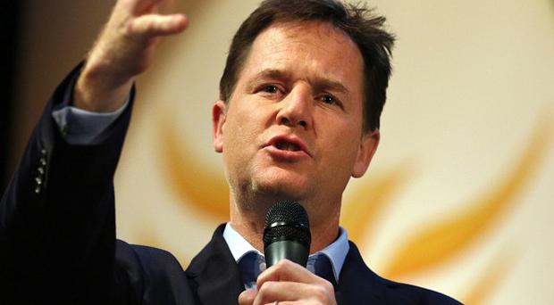 Nick Clegg will deliver his keynote speech at the Lib Dem conference in Glasgow