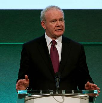 Northern Ireland Deputy First Minister Martin McGuinness will give a peace lecture in Warrington