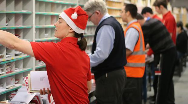 Royal Mail is recruiting 4,000 extra postal workers for the busy Christmas period