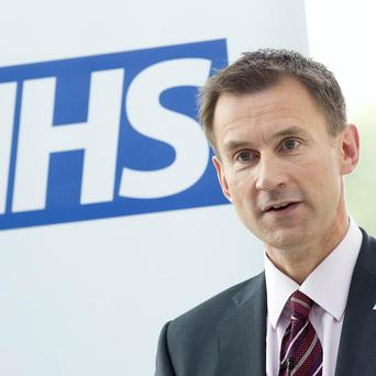 Health Secretary Jeremy Hunt said plans for top NHS managers to help turn around failing hospitals would lead to 'real change'