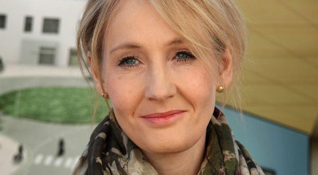JK Rowling began working on her Harry Potter books after splitting from the father of her daughter Jessica