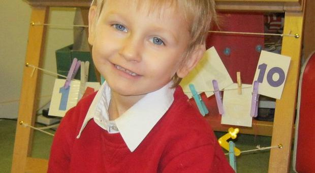 Daniel Pelka died of a head injury in March 2012 after a systematic campaign of emotional and physical abuse by his mother and stepfather (West Midlands Police/PA)