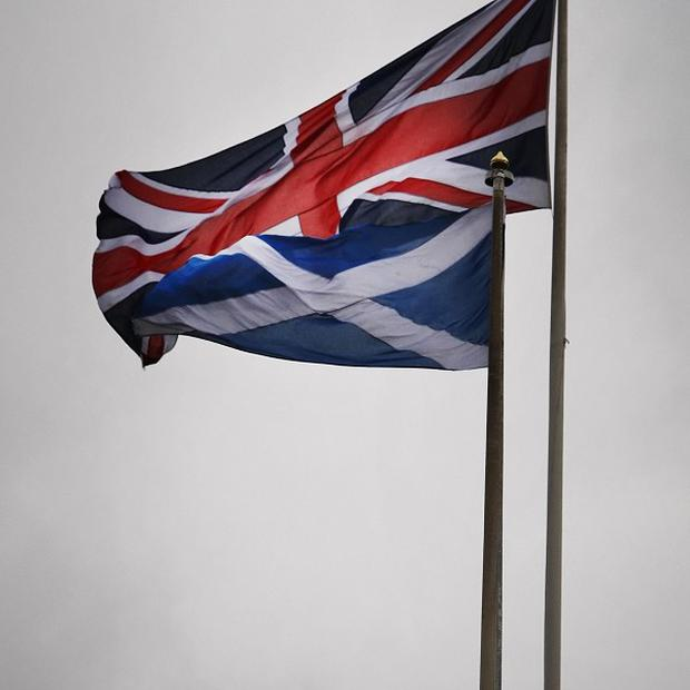 Many of those assembled waved flags or held banners in support of their cause, turning the streets into a sea of colour