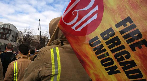 Members of the Fire Brigades Union will take industrial action in a long-running row over pensions