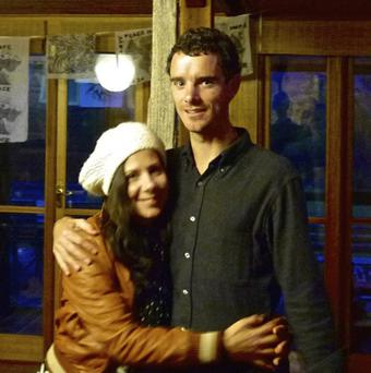 Ross Langdon and his partner Elif Yavuz were victims of the terrorist attack on a shopping mall in Kenya (AP/AAP)