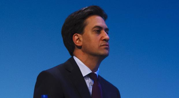 Ed Miliband said Labour wouuld reverse a rise in small business rates due in April 2015