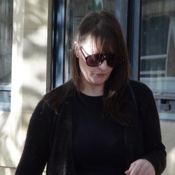 Amanda Hutton has denied manslaughter in relation to the death of a four-year-old boy