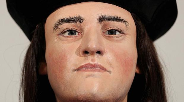 King Richard III was killed at the Battle of Bosworth in 1485