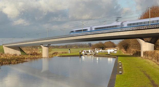The first phase of HS2 is due for completion in 2026