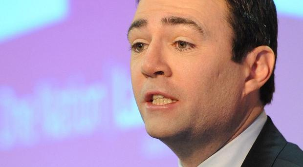 Andy Burnham said he wanted an NHS based on 'people not profits'