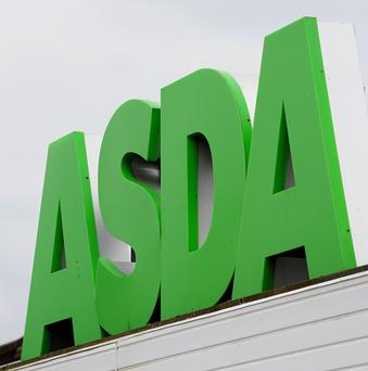 Queues formed outside Asda at Westgate Shopping Centre in Belfast earlier this morning for the deal