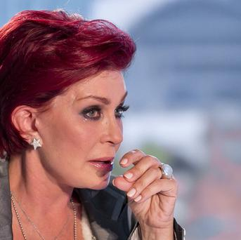 X Factor judge Sharon Osbourne said she found working with Dannii Minogue to be